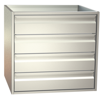 non-refrigerated cabinets - Gastronorm - S4 76-65