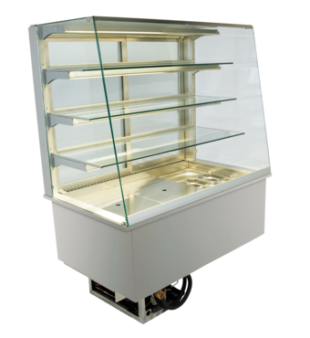 Built-in refrigerated display cases - Gastronorm - Gastro GS-80-87-E*)