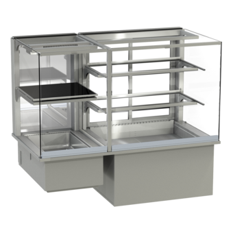 Built-in combination display cases - KGW - KGW GE-127-70-Z
