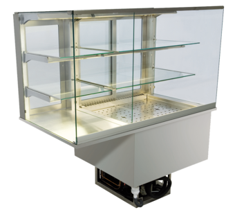 Built-in combination display cases - KGU - KGU GE-152-70-E