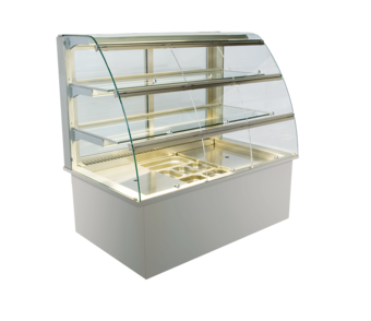 Built-in refrigerated display cases with flaps - Gastro - Gastro GR-80-70-Z KL*)