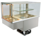 Built-in combination display cases - KGW - KGW GE-127-53-E