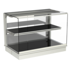 Built-in heated display cases - Closed or with removal flaps - W GE-80-70 PRO*)