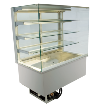 Built-in refrigerated display cases - Gastronorm - Gastro GE-80-87-E*)