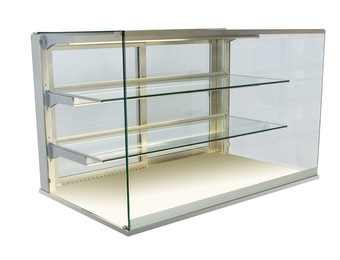 Kristall glass enclosure - Closed front - GUK GE-80-70
