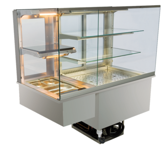 Built-in combination display cases - KGW - KGW GE-160-70-Z