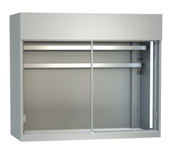 Display cases for meat - With mirrors and inclined supports, meat hooks or mixed - FKV-F 110