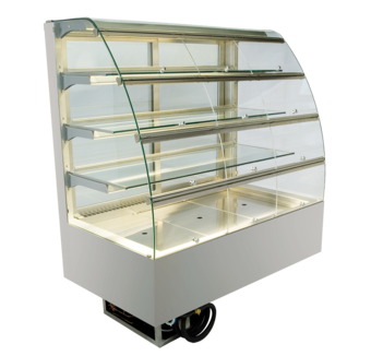 Built-in refrigerated display cases with flaps - Gastro - Gastro GR-80-87-E KL PRO*)
