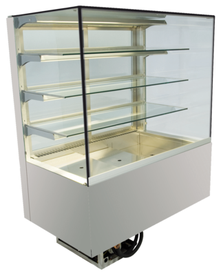 Built-in refrigerated display cases - Green - Green GE-145-88-E PRO