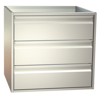 non-refrigerated cabinets - Gastronorm - S3 76-65