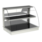 Built-in heated display cases - Closed or with removal flaps - W KOR-80-70*)