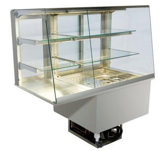 Built-in combination display cases - KGU - KGU GS-152-70-E