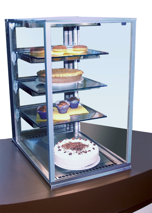 Cake Tower Refrigerated Cake Display Cases