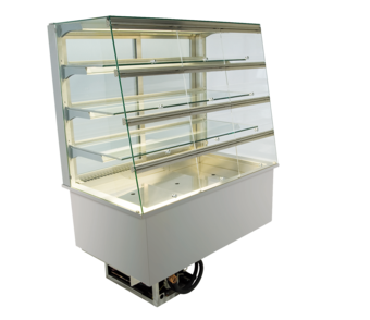 Built-in refrigerated display cases with flaps - Gastro - Gastro GS-80-87-E KL*)