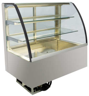 Built-in refrigerated display cases - Green - Green GR-145-71-E PRO