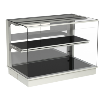 Built-in heated display cases - Closed or with removal flaps - W KOE-80-70*)