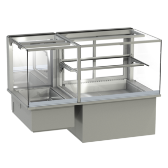 Built-in combination display cases - KGW - KGW GE-160-53-Z