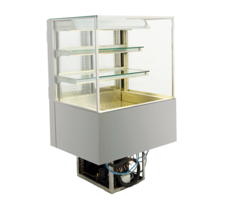 Open built-in refrigerated display cases - Gastro M1 - Green OE-80-70-E PRO
