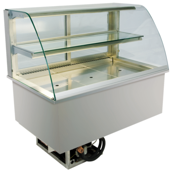 Built-in refrigerated display cases - Gastronorm - Gastro GR-80-53-E*)