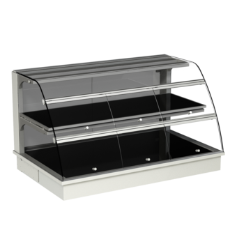 Built-in heated display cases - Closed or with removal flaps - W GR-80-53 KL*)