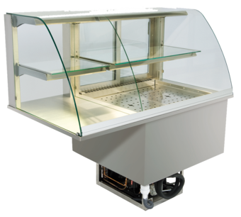 Built-in combination display cases - KGU - KGU GR-152-53-E