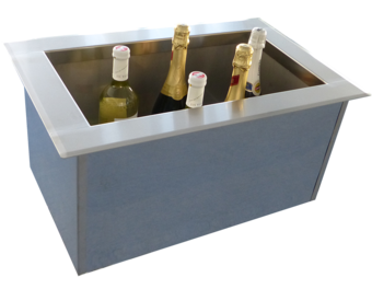 Bootle and Liquor coolers - Bottle freezer wells - KTU 15