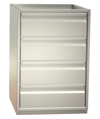 Non-refrigerated cabinets - Add-on cabinets - S4 35-85