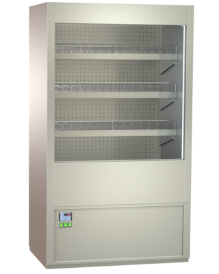 Multideck beverage cabinets - with straight or inclined CNS intermediate shelves - FKRZ 80-RG