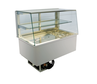 Open built-in refrigerated display cases - Gastro H1 - Gastro OS-177-53-E RG