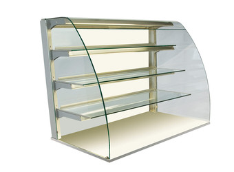 Kristall glass enclosure - open - GUK OR-80-87