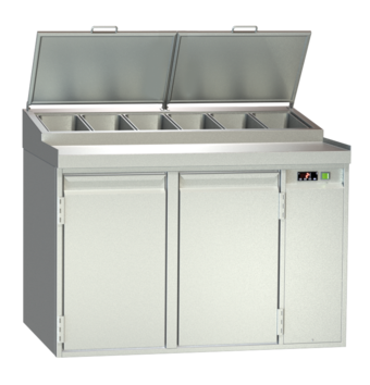 Food preparation stations - Gastronorm - BLGZ 2-65-2T