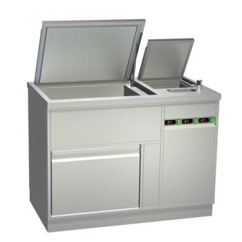 Ice cream storage counters - Static cooling - EIS-TKZ 120-3