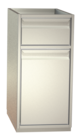 Non-refrigerated cabinets - Tipping waste bin cabinets - MKS 45