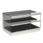 Built-in heated display cases - Closed or with removal flaps - W GE-80-53 KL*)