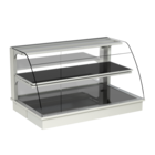 Built-in heated display cases - Closed or with removal flaps - W KOR-112-53 PRO
