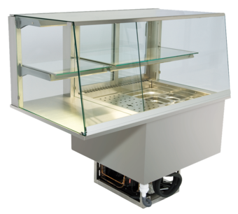 Built-in combination display cases - KGU - KGU GS-152-53-E