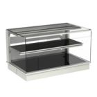 Built-in heated display cases - Closed or with removal flaps - W KOE-80-53*)