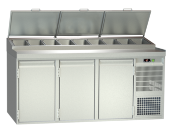 Food preparation stations - Gastronorm - BLGE 3-76-3T