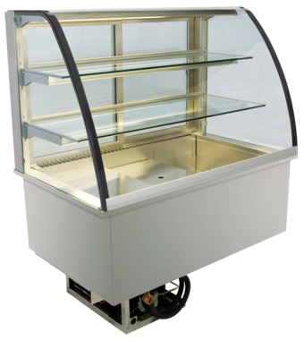 Built-in refrigerated display cases - Green - Green GR-145-71-E
