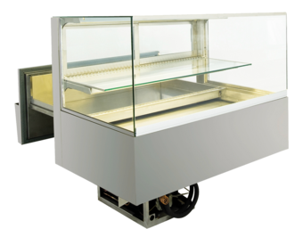 Built-in refrigerated display cases with cake drawer - BAK L - BAK L GE-92-51-E