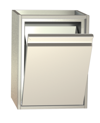 Non-refrigerated cabinets - Tipping waste bin cabinets - MK 45
