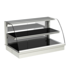 Built-in heated display cases - Closed or with removal flaps - W GR-80-53 PRO*)