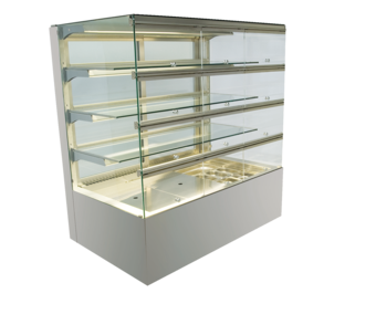 Built-in refrigerated display cases with flaps - Gastro - Gastro GE-80-87-Z KL PRO*)