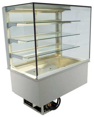 Built-in refrigerated display cases - Green - Green GE-145-88-E