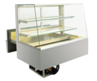 Built-in refrigerated display cases with cake drawer - BAK L - BAK L GS-92-68-E