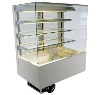 Open built-in refrigerated display cases - Gastro M2 - Gastro OE-80-87-E PRO