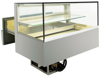 Built-in refrigerated display cases cake drawer - Green L - Green L GE-112-52-E