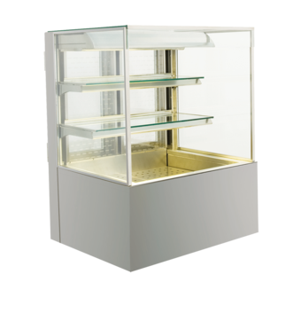 Open built-in refrigerated display cases - Gastro M1 - Green OE-80-70-Z PRO
