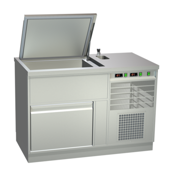 Ice cream storage counters - Static cooling - EIS-TKE 130-2