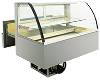 IDEAL AKE - Built-in refrigerated display cases cake drawer
